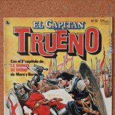 Tebeos: EL CAPITAN TRUENO - Nº 11 - AÑO I - 1ª ÉPOCA - MAYO DE 1986. Lote 51341488