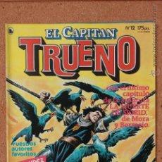 Tebeos: EL CAPITAN TRUENO - Nº 12 - AÑO I - 1ª ÉPOCA - MAYO DE 1986. Lote 51341521