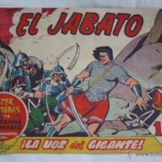Tebeos: ANTIGUO CÓMIC - EL JABATO. ¡LA VOZ DEL GIGANTE! - Nº 142 - SUPER AVENTURAS, BRUGUERA, 1961. Lote 51352564