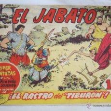 Tebeos: ANTIGUO CÓMIC - EL JABATO. ¡EL RASTRO DEL TIBURÓN! - Nº 148 - SUPER AVENTURAS, BRUGUERA, 1961. Lote 51353514