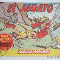 Tebeos: ANTIGUO CÓMIC - EL JABATO. ¡MAGIA NEGRA! - Nº 216 - SUPER AVENTURAS, BRUGUERA, 1962. Lote 51355101