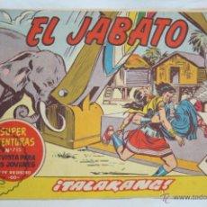 Tebeos: ANTIGUO CÓMIC - EL JABATO. ¡TALAKANG! - Nº 228 - SUPER AVENTURAS, BRUGUERA, 1963. Lote 51355314