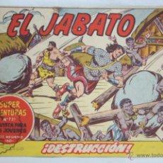Tebeos: ANTIGUO CÓMIC - EL JABATO. ¡DESTRUCCIÓN! - Nº 231 - SUPER AVENTURAS, BRUGUERA, 1963. Lote 51355336