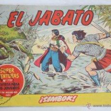 Tebeos: ANTIGUO CÓMIC - EL JABATO. ¡SIMBOK! - Nº 234 - SUPER AVENTURAS, BRUGUERA, 1963. Lote 51355396
