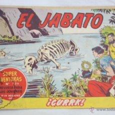 Tebeos: ANTIGUO CÓMIC - EL JABATO. ¡CURRK! - Nº 240 - SUPER AVENTURAS, BRUGUERA, 1963. Lote 51355543