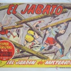 Tebeos: ANTIGUO CÓMIC - EL JABATO. ¡EL JARDÍN DEL MISTERIO! - Nº 255 - SUPER AVENTURAS, BRUGUERA, 1963. Lote 51355851