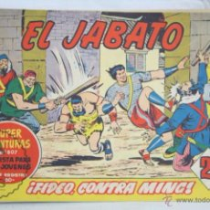 Tebeos: ANTIGUO CÓMIC - EL JABATO. ¡FIDEO, CONTRA MING! - Nº 274 - SUPER AVENTURAS, BRUGUERA, 1963. Lote 51356223
