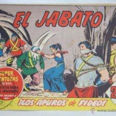 Tebeos: ANTIGUO CÓMIC - EL JABATO. ¡LOS APUROS DE FIDEOS! - Nº 275 - SUPER AVENTURAS, BRUGUERA, 1963. Lote 51356242