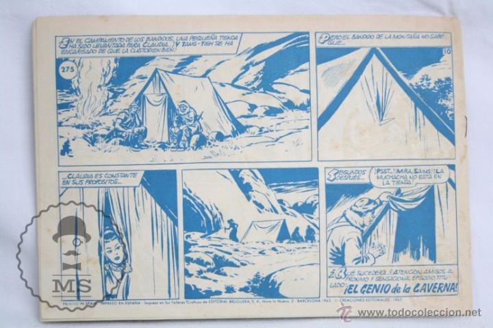 Tebeos: Antiguo Cómic - El Jabato. ¡Los Apuros de Fideos! - Nº 275 - Super Aventuras, Bruguera, 1963 - Foto 3 - 51356242