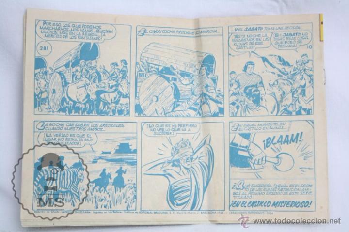 Tebeos: Antiguo Cómic - El Jabato. ¡Los Fantasmas de Wong-Wah! - Nº 281 - Super Aventuras, Bruguera, 1964 - Foto 3 - 51357601