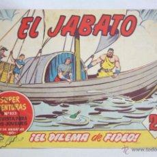 Tebeos: ANTIGUO CÓMIC - EL JABATO. ¡EL DILEMA DE FIDEO! - Nº 297 - SUPER AVENTURAS, BRUGUERA, 1964. Lote 51357867