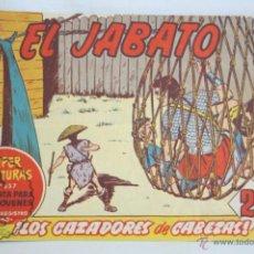 Tebeos: ANTIGUO CÓMIC - EL JABATO. ¡LOS CAZADORES DE CABEZAS! - Nº 299 - SUPER AVENTURAS, BRUGUERA, 1964. Lote 51358168
