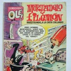 Tebeos: OLÉ Nº 143 MORTADELO Y FILEMÓN (EL CASO DEL BACALAO) BRUGUERA 2ª EDICIÓN 1979. Lote 51375282