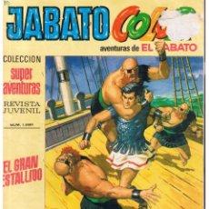 Tebeos: JABATO COLOR. Nº 50. EL GRAN ESTALLIDO. BRUGUERA 1970 (ST/A2). Lote 222300927