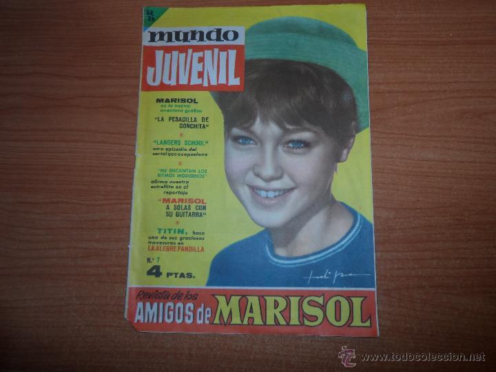 MUNDO JUVENIL Nº 7 REVISTA DE LOS AMIGOS DE MARISOL EDITORIAL BRUGUERA (Tebeos y Comics - Bruguera - Otros)