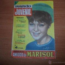 Tebeos: MUNDO JUVENIL Nº 7 REVISTA DE LOS AMIGOS DE MARISOL EDITORIAL BRUGUERA . Lote 51405030