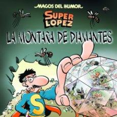 Tebeos: SUPERLOPEZ - LA MONTAÑA DE DIAMANTES - JAN - MAGOS DEL HUMOR Nº 165. Lote 43192082