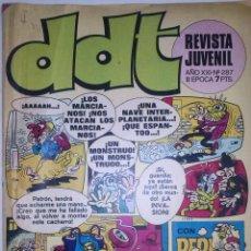 BDs: DDT -III ÉPOCA- Nº 287 -PEPE GOTERA-LUCKY LUKE-APOLINO TARUGUEZ-ROLDÁN SIN MIEDO-1973-DIFÍCIL-4648. Lote 51506381