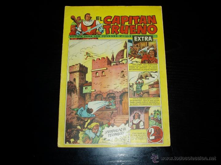 CAPITAN TRUENO EXTRA Nº 14. ORIGINAL. BRUGUERA. (Tebeos y Comics - Bruguera - Capitán Trueno)