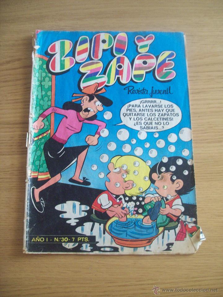 ZIPI Y ZAPE NÚMERO 30 (Tebeos y Comics - Bruguera - Cuadernillos Varios)