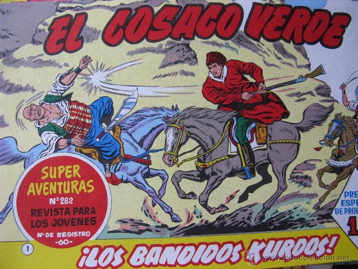 EL COSACO VERDE. FASCIMIL. NRO.1 ¡LOS BANDIDOS KURDOS!. (COMO NUEVO) (Tebeos y Comics - Bruguera - Cosaco Verde)