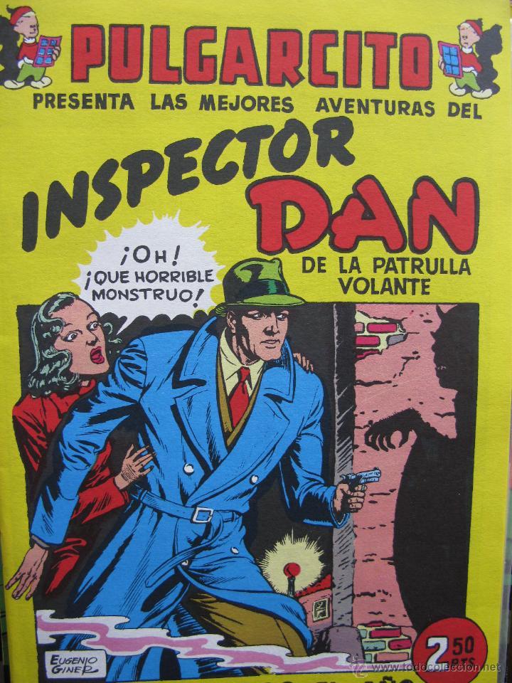 EL INSPECTOR DAN DE LA PATRULLA VO. FASCIMIL. LOS SERES INFERNALES DE SALISBURY CASTLE. (COMO NUEVO) (Tebeos y Comics - Bruguera - Inspector Dan)