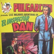 Tebeos: INSPECTOR DAN. FASCIMIL. EL MUSEO SINIESTRO. (COMO NUEVO). Lote 51568673
