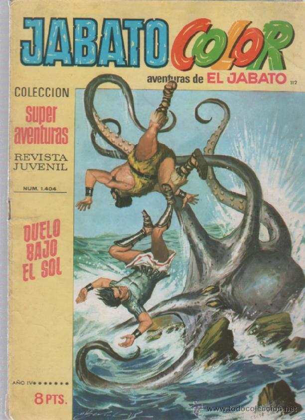 TEBEO JABATO COLOR. 112. COLECCION SUPER AVENTURAS. Nº 1404. DUELO BAJO EL SOL (Tebeos y Comics - Bruguera - Jabato)