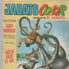 Tebeos: TEBEO JABATO COLOR. 112. COLECCION SUPER AVENTURAS. Nº 1404. DUELO BAJO EL SOL. Lote 51577236