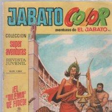 Tebeos: TEBEO JABATO COLOR. 92. COLECCION SUPER AVENTURAS. Nº 1364. EL DILEMA DE FIDEO. Lote 51577301