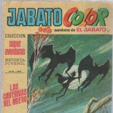 Tebeos: TEBEO JABATO COLOR. 94. COLECCION SUPER AVENTURAS. Nº 1368. LAS CAVERNAS DEL MIEDO. Lote 51577312