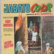 Tebeos: TEBEO JABATO COLOR. 110. COLECCION SUPER AVENTURAS. Nº 1400. DESCUBIERTOS. Lote 51577327