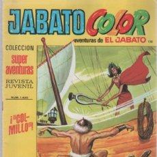 Tebeos: TEBEO JABATO COLOR. 120. COLECCION SUPER AVENTURAS. Nº 1420. COLMILLO. Lote 51577358