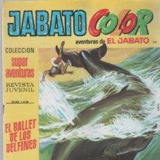 Tebeos: TEBEO JABATO COLOR. 119. COLECCION SUPER AVENTURAS. Nº 1418. EL BALLET DE LOS DELFINES. Lote 51577398