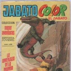Tebeos: TEBEO JABATO COLOR. 28. COLECCION SUPER AVENTURAS. Nº 1236. LA AMENAZA DE LA MOMIA. Lote 51577749