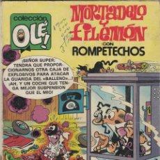 Tebeos: OLÉ Nº 229 M 26 MORTADELO Y ROMPETECHOS. EDICIONES B 2ª ED 1987. 200 . Lote 51616458