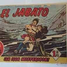Tebeos: ESCASO COMIC ORIGINAL - EL JABATO Nº 9 - AÑO 1958.. R-126. Lote 51629671