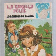 Tebeos: JOYAS LITERARIAS JUVENILES. Nº 51. LA FAMILIA FELIZ. LOS AMIGOS DE GLORIA. Lote 51663711