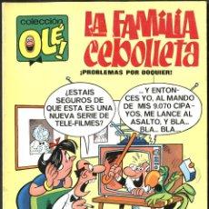 Tebeos: OLÉ Nº 4: LA FAMILIA CEBOLLETA, DE VÁZQUEZ (BRUGUERA, 1971) 1ª EDICIÓN. BUEN ESTADO. Lote 51676581