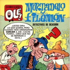 Giornalini: OLÉ Nº 11: MORTADELO Y FILEMÓN DE IBAÑEZ (BRUGUERA, 1971) 1ª EDICIÓN. BUEN ESTADO. Lote 51676721