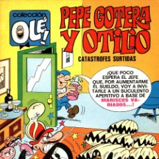 Giornalini: OLÉ Nº50: PEPE GOTERA Y OTILIO DE IBAÑEZ (BRUGUERA, 1972) 1ª EDICIÓN. BUEN ESTADO. Lote 51677179