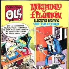 Giornalini: OLÉ Nº 175: MORTADELO Y FILEMÓN DE IBAÑEZ (BRUGUERA, 1979) 1ª EDICIÓN.. Lote 51712568