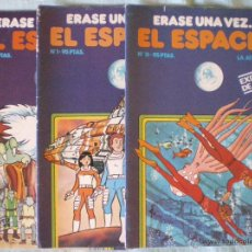 Tebeos: COMIC TEBEO ERASE UNA VEZ....EL ESPACIO BRUGUERA EXITO TV Nº 1-4-18 LOTE TRES COMICS NUEVOS. Lote 51717809