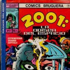 Tebeos: 2001: LA ODISEA DEL ESPACIO. Nº2:¡VIRA, LA DIABLESA! - KIRBY. CÓMICS BRUGUERA 12. ED. BRUGUERA, 1977. Lote 51727201
