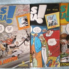 Tebeos: COMIC MAS MADERA! 8-9-11-1986 MONTSE CLAVÉ PASCUAL FERRY BEROY ABULÍ BRUGUERA LOTE 3 COMICS NUEVOS. Lote 51728106