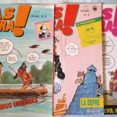 Tebeos: COMIC MAS MADERA! 5-6-7-1986 MONTSE CLAVÉ PASCUAL FERRY BEROY ABULÍ BRUGUERA LOTE 3 COMICS NUEVOS. Lote 51728190