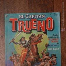 Tebeos: EL CAPITAN TRUENO - Nº 1 - AÑO I - 1ª ÉPOCA - MARZO DE 1986. Lote 51735677