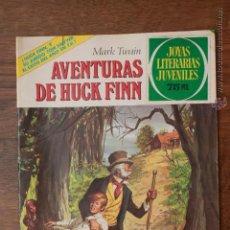 Tebeos: JOYAS LITERARIAS JUVENILES - MARK TWAIN - AVENTURAS DE HUCK FINN - Nº 40 - 1981. Lote 51736125