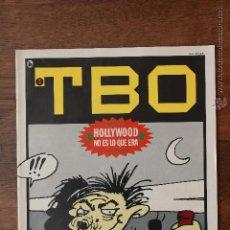 Tebeos: TBO, Nº 1. CUARTA ÉPOCA. BRUGUERA 1986. JOAN NAVARRO. PUBLICIDAD CAP. TRUENO. Lote 51736210