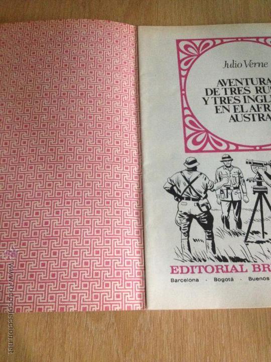 Tebeos: JOYAS LITERARIAS JUVENILES Nº 28. RUSOS INGLESES AFRICA. 1ª EDICION 1971. BRUGUERA. LABERINTO ROJO. - Foto 2 - 51747695